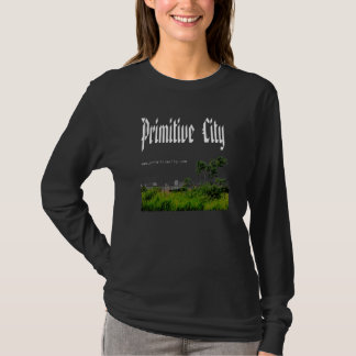 Primitive City Black Long-Sleeve Shirt