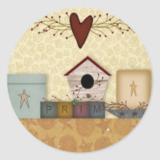 Primitive Collection Sticker