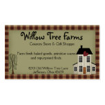 Primitive Country Farmhouse Business Card