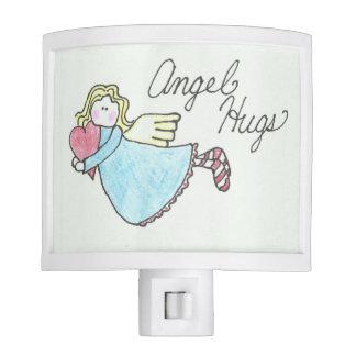 Primitive Country Rustic Angel Hugs Night Light