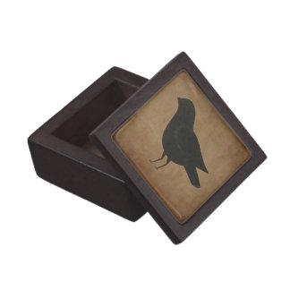 Primitive Crow Gift Box