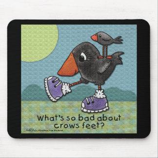 Primitive Crows- Crows Feet Mouse Pad