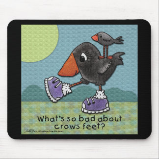 Primitive Crows- Crows Feet Mouse Pad