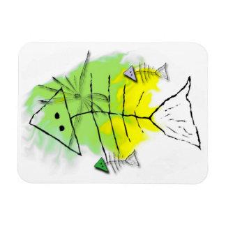 Primitive Fish Magnet