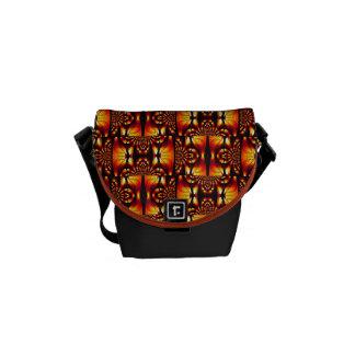 Primitive-Flavored Abstract Pattern Tribal 2013 Messenger Bag