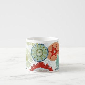 Primitive Floral Cup Espresso Mug