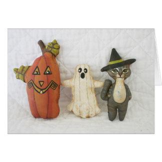 Primitive Folk Art Halloween Party Invitations