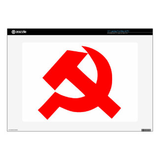 """Primitive Hammer and Sickle Soviet Union CCCP Decal For 15"""" Laptop"""