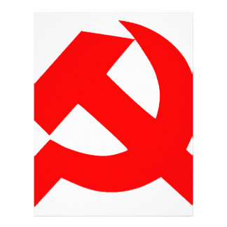 Primitive Hammer and Sickle Soviet Union CCCP Letterhead