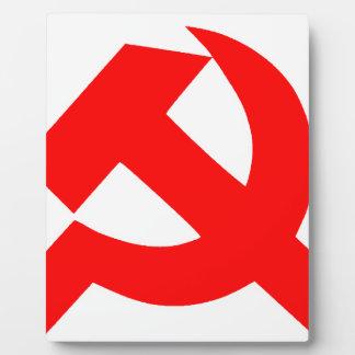 Primitive Hammer and Sickle Soviet Union CCCP Plaque