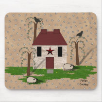 Primitive House Mousepad