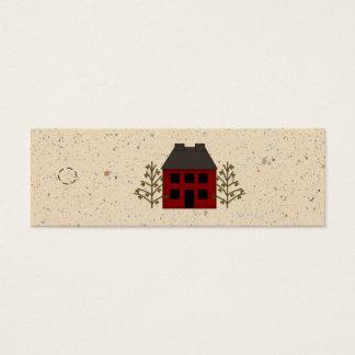 Primitive House Skinny Hang Tag
