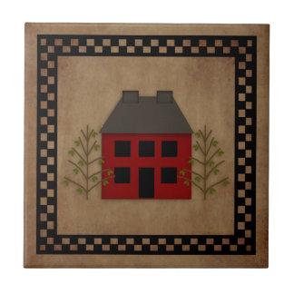 Primitive House Tile