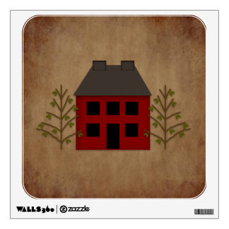Primitive House Wall Decal