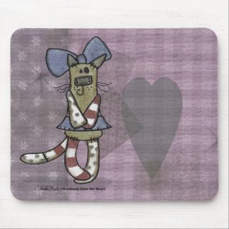 Primitive Kitty Mouse Pad