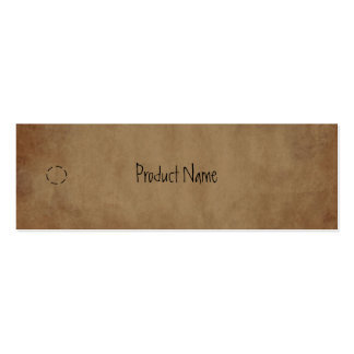Primitive Paper Hang Tag Double-Sided Mini Business Cards (Pack Of 20)