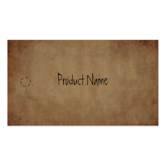 Primitive Paper Hang Tag Double-Sided Standard Business Cards (Pack Of 100)