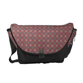 Primitive pattern courier bag