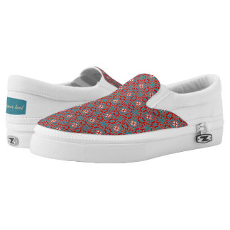 Primitive Pattern Slip-On Sneakers