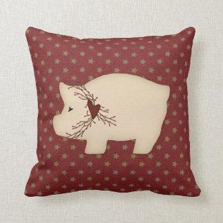 Primitive Pig Pillow