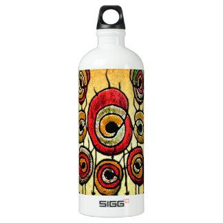 Primitive Plant Illustration Aluminum Water Bottle