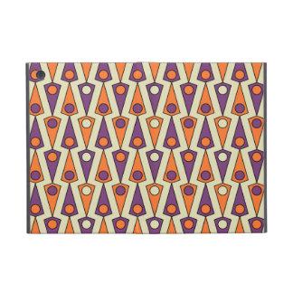 Primitive Purple & Orange Borneo Pattern Case For iPad Mini