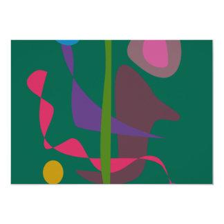 Primitive Rhythm 5x7 Paper Invitation Card