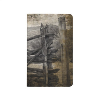 Primitive rural west country Rustic Farm Fence Journal