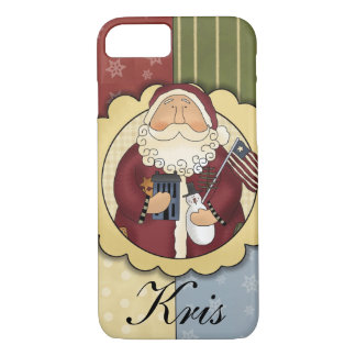 Primitive Santa Barely There iPhone Case