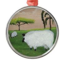 Primitive Sheep Ornament