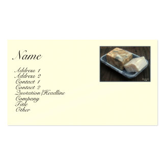 Primitive Soaps Profile Card Business Card Templates