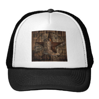 Primitive Star Grunge Western Country Cowboy Trucker Hat
