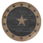 Primitive Star Plate