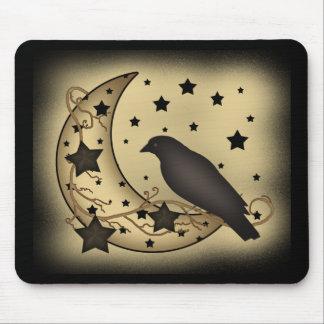 Primitive Starlight Crow Mousepad