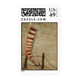 primitive stocking stamp
