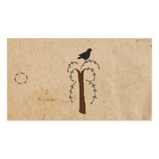 Primitive Tree Hang Tag Double-Sided Standard Business Cards (Pack Of 100)
