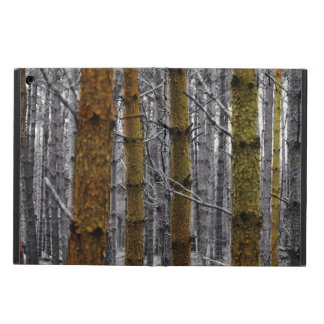 Primitive Western Country Camouflage Pine Trees iPad Air Case