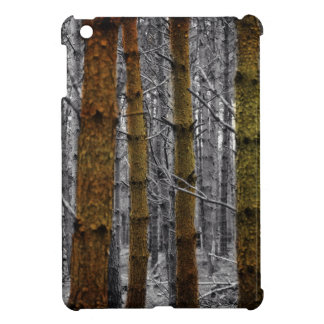Primitive Western Country Camouflage Pine Trees iPad Mini Cases