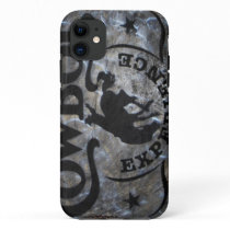 Primitive western country Horse cowboy rodeo iPhone 11 Case