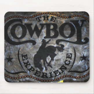 Primitive western country Horse cowboy rodeo Mouse Pad