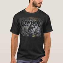 Primitive western country Horse cowboy rodeo T-Shirt