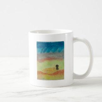 Primitive Woman In Repose Coffee Mug
