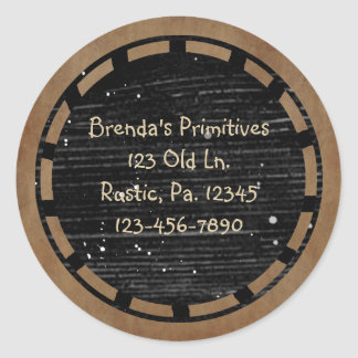 Primitive Wood Look Sticker
