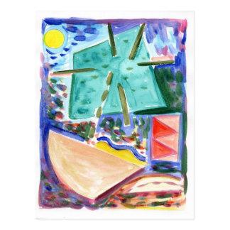 Primitivo 15 del espacio postales