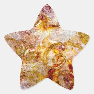 Primo 2 pegatinas pegatina en forma de estrella