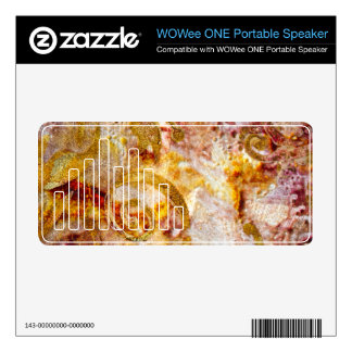 Primo 2 WOWee ONE Portable Speaker Skin Decals For WOWee Speakers
