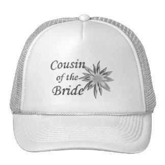 Primo de la novia gorros bordados