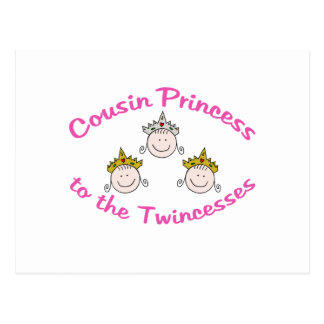 Primo de Twincess Tarjeta Postal