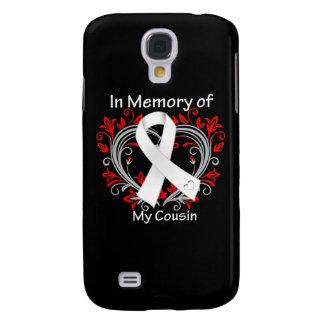 Primo - en corazón del cáncer de pulmón de la memo