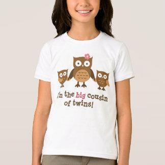 Primo grande de las camisetas de los gemelos para playera